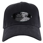 Courage Marie Antoinette Black Cap
