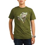 Painted Frog Organic Men's T-Shirt (dark)
