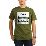 Recovering Trollaholic Organic Men's T-Shirt (dark
