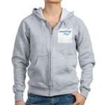 Something Blue Women's Zip Hoodie