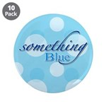 """Something Blue 3.5"""" Button (10 pack)"""