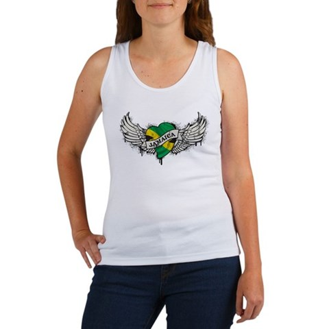Jamaica Tattoo Women's Tank Top