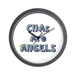 CNAs Are Angels Wall Clock
