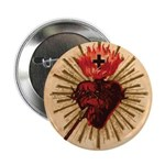 "Heart of Jesus 2.25"" Button (100 pack)"