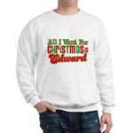 Christmas Edward Sweatshirt
