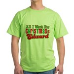 Christmas Edward Green T-Shirt
