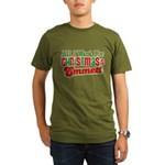 Christmas Emmett Organic Men's T-Shirt (dark)