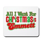 Christmas Emmett Mousepad