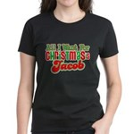 Christmas Jacob Women's Dark T-Shirt