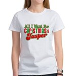 Christmas Jasper Women's T-Shirt