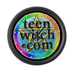TeenWitch  Large Wall Clock