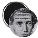 "Irony Freedom of Speech 2.25"" Magnet (10 pack)"