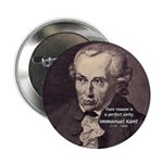 "Immanuel Kant Reason 2.25"" Button (100 pack)"
