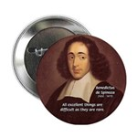 Spinoza Ethics Philosophy Button