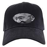 Power of Truth Gandhi Black Cap