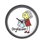 Organizer Wall Clock