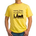 Mayor Nagin Chocolate Factory Yellow T-Shirt
