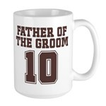 Uniform Groom Father 10 Large Mug