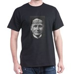 Philosopher: Alfred Whitehead Black T-Shirt