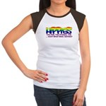 "Anti Liberal Hippies ""Stoned"" Women's Cap Sleeve T"