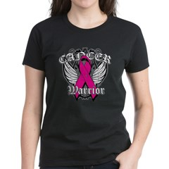 Breast Cancer Warrior Women's Dark T-Shirt