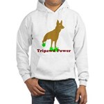 Tripawd Power Three Legged German Shepherd Sweatshirts and Hoodies