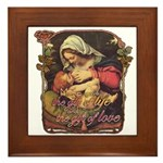 """Gift of Love"" Framed Tile"