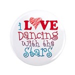 "I Love Dancing With the Stars 3.5"" Button (100 pac"