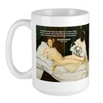 Impressionist Art Manet  Large Mug