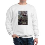Manet Painting Color Quote Sweatshirt