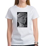 David with Michelangelo Quote Women's T-Shirt