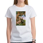 Sistine Chapel Adam & Eve Women's T-Shirt