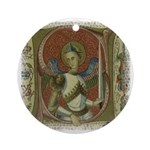 Gothic Angel : Art Pendant - Ornament