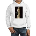 Michelangelo Angel in Sculpture Hooded Sweatshirt