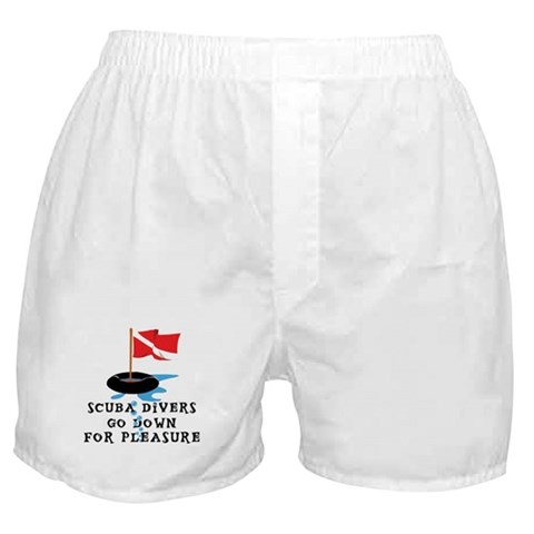 funny boxers. Funny SCUBA Boxer Shorts