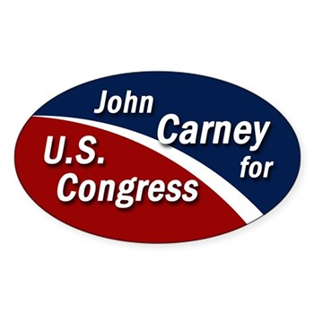 John Carney for Congress bumper sticker
