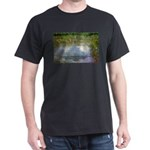 Monet Painting: Beauty Quote Black T-Shirt