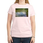 Monet Painting: Beauty Quote Women's Pink T-Shirt