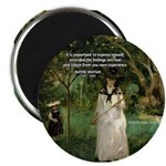 "Berthe Morisot Art Quote 2.25"" Magnet (10 pack)"
