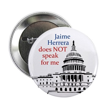Jaime Herrera does NOT speak for me button
