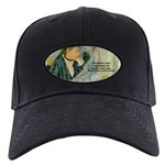 Female Artist Morisot Quote Black Cap