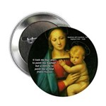 "Raphael Madonna Painting 2.25"" Button (10 pack)"