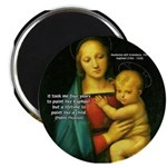 Raphael Madonna Painting Magnet