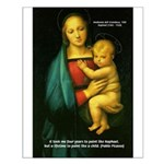 Raphael Madonna Painting Small Poster