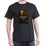 Renbrandt Self Portrait & Quote Black T-Shirt