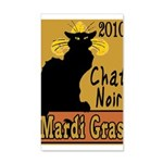 Mardi Gras 38.5 x 24.5 Wall Peel