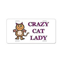 Funny Cat License Plates