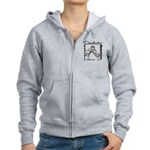 Diabetes Awareness Women's Zip Hoodie