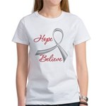 Hope Believe Diabetes Women's T-Shirt