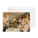 Renoir Quote and Landscape Greeting Cards (Package